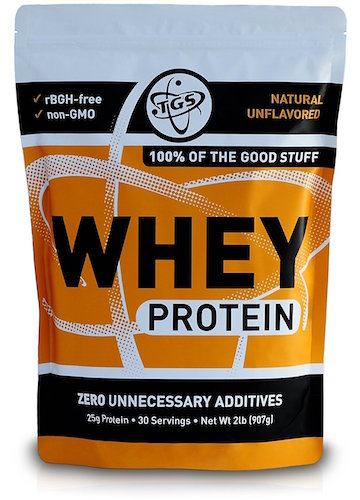 TGS Nutrition Whey Protein Powder Review
