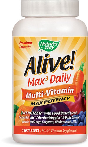 Nature's Way Alive! Once Daily Multivitamin Review