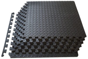 Home gym flooring is designed to protect your floor against scratches and damage