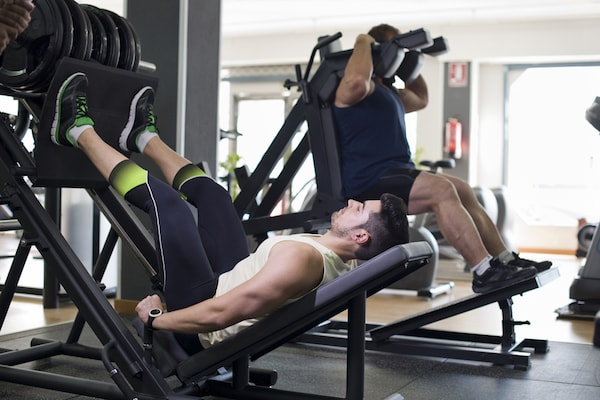 The best leg press machines also support hack squats