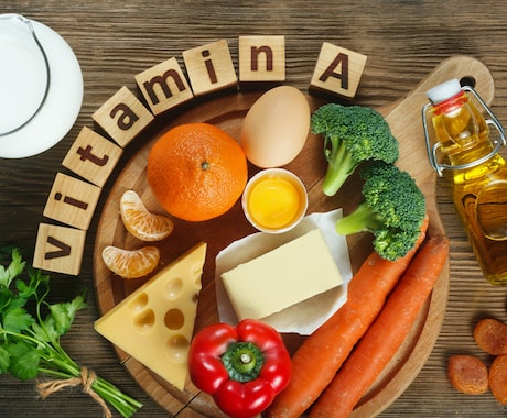 Foods with a high amount of vitamin A