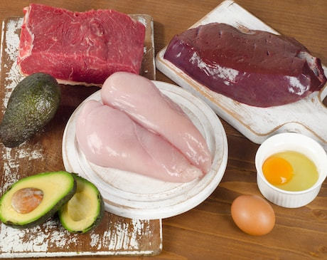 Foods with a high amount of vitamin B3