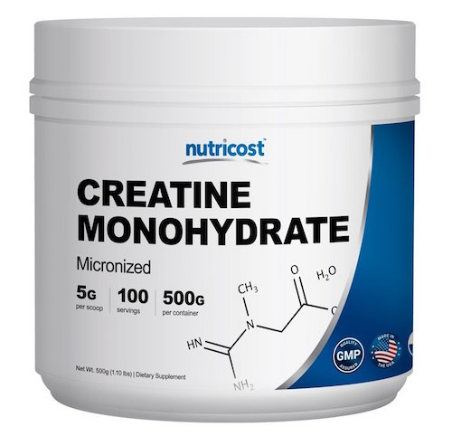Nutricost Creatine Monohydrate Powder Review