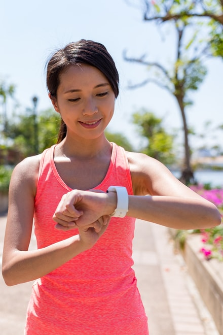 Strapless heart rate monitors often rely on sensors under the face of a GPS watch