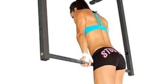 Stud Bar Ceiling Mountable Pull Up Bar Muscle Ups