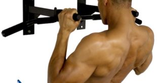 Ultimate Body Press Wall Mount Pull Up Bar Grip Positions
