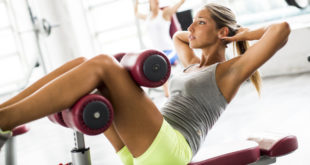 Abs Bench Crunches