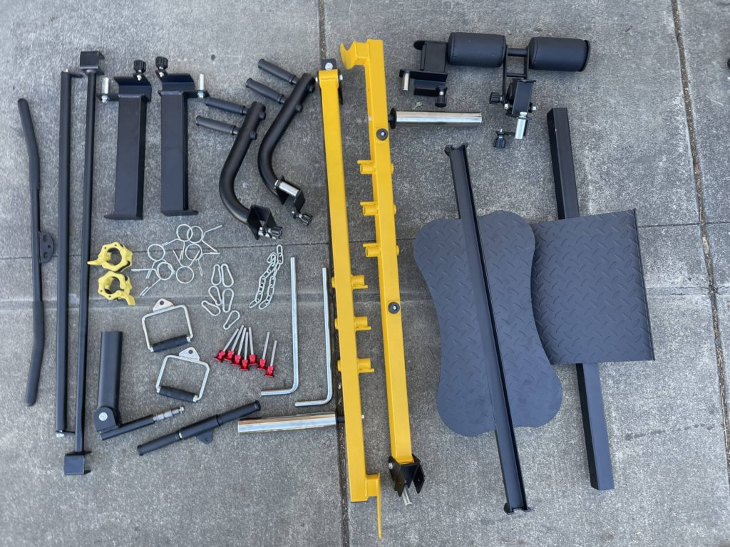 French Fitness FSR90 parts