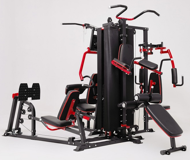 Featured image for French Fitness X8 XL Multi Station Home Gym