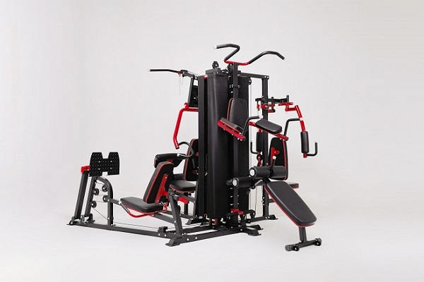 Full profile of French Fitness X8 XL Multi Station Gym