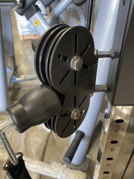 Pulley height adjustments